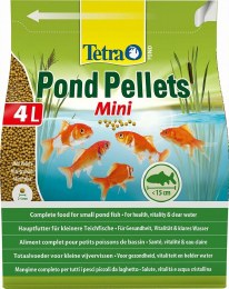 Tetra Pond Pellets Mini 4 Litre