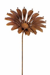 Rustic Sunflower Stake