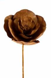 Rusty Oriental Poppy Stake