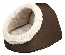 Trixie Igloo Timur Cuddly Cat Cave Brown