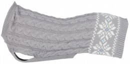 Trixie Dog Sweater Granby Extra Small Grey