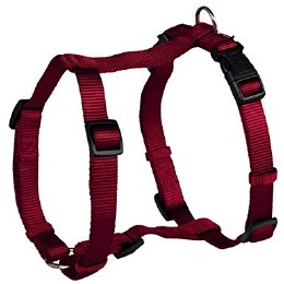 Trixie Premium H Harness Large-Extra Large Burgundy