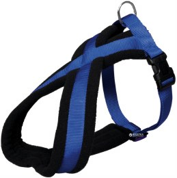 Trixie Premium Touring Dog Harness Medium Blue