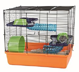 Trixie Orange Hamster Cage 40x38x30cm