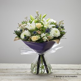 Twinkling Whites Hand-tied Large