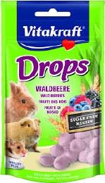 Vitakraft Wild Berry Drops for Rabbits