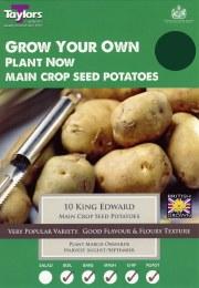 King Edward Seed Potatoes 8 Pack - Main Crop