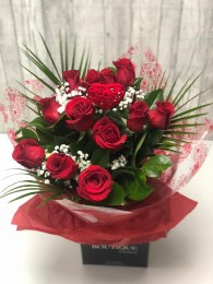 Valentine's Day Dozen Red Roses