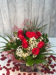 Valentine's Day Half Dozen Red Roses