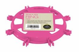 Garland Bean & Pea Ring Pink