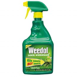 Weedol Lawn Weedkiller Ready To Use 800ml - Kills Weeds not Lawns