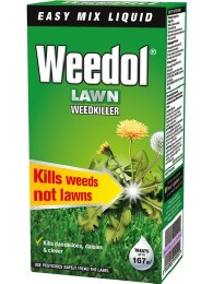 Weedol Lawn Weedkiller Concentrate 250ml - Kills Weeds not Lawns