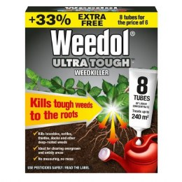 Weedol Ultra Tough Concentrate Weedkiller 6 Tubes Plus 2 FREE