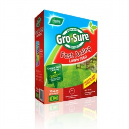 Westland Gro-Sure Fast Acting Lawn Seed 10m2 plus 50% Extra  free