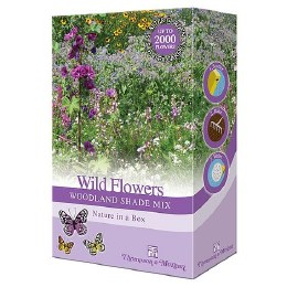 Bee Friendly - Wildflowers Woodland Shade Mix