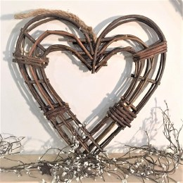 Willow Heart Wreath Medium