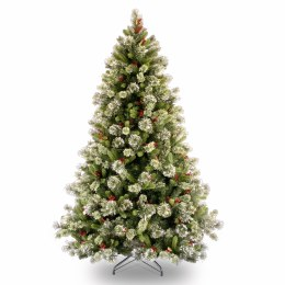 Wintry Pine 7.5 Foot Artificial Christmas Tree With Frosted Tips