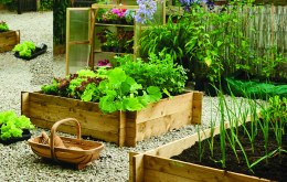 Gardman Wooden Raised Bed