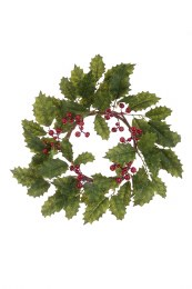 Christmas Holly Berry Ring 38cm