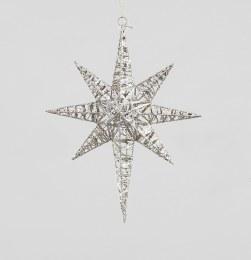 Christmas Bathlehem Star Champagne 42cm