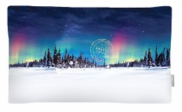 Christmas Luxury Pillow 'Northern Lights' 30cm x 50cm