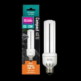Arcadia D3 Mini UVB Bulb 12%, 13w
