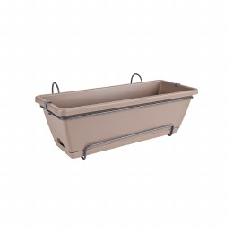 Elho Barcelona All in One 50cm Window Box Taupe