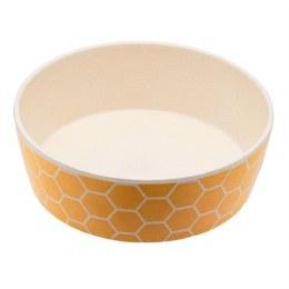 Bamboo Printed Dog Bowl Honeycomb 800ml