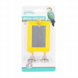 Mirror and Bell Bird Toy