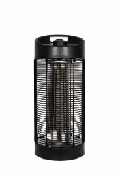 La Hacienda Table Heater Black Series Nero Revolving