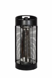 La Hacienda Under Table Heater Black Series Nerva Revolving