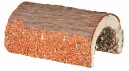 Bridge bark wood veg and nuts