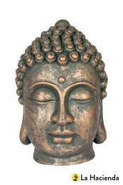 La Hacienda Buddha Head Large 31x20x21