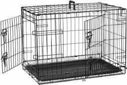 Cheeko Flatroof Dog Crate Large