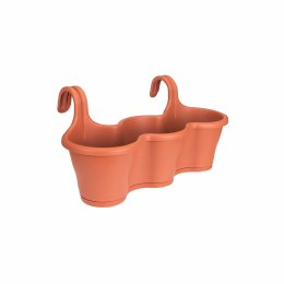 Elho Corsica Easy Hanger Trio Terracotta Colour