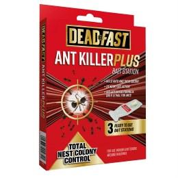 Deadfast Ant Killer Plus Bait Station