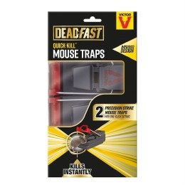 Deadfast Quick Kill Mouse Trap (Twin Pack)