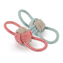 Dog Toy Rope Ball 21cm
