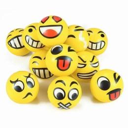 Emoji Spongeball Dog Toy