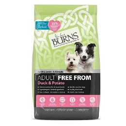 Burn Dog Free From Duck & Potato Adult 12kg