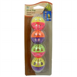 Balls and Bell Bird Toy