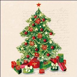 Napkin 33cm Christmas Tree