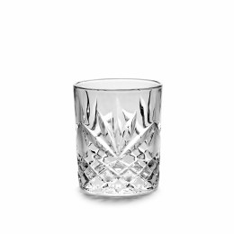 Christmas Whiskey Glass Clear 10cm