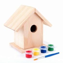 Gardman Paint Your Own Nest Box Display