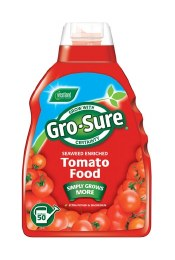 GRO-SURE SUPER ENRICHED TOMATO FOOD 1 LITRE - SPECIAL OFFER BUY 1 GET 1 FREE