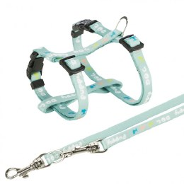 Trixie Puppy Harness with Lead Mint