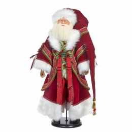 Santa Claus in Red Tartan Suit 91.5cm Tall