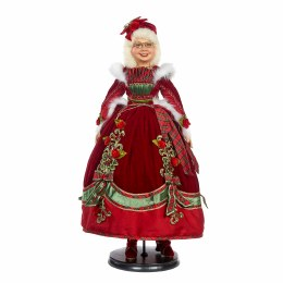 Mrs Claus Doll in Red Dress 76cm
