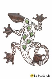 La Hacienda Wall Art Steel Lizzard