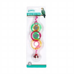 Rings and Bell Bird Toy